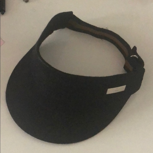 ed7f141b4fa Gucci Accessories - Gucci Visor Black